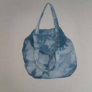 no brand Bags - Hand-dyed Blue Small Tote